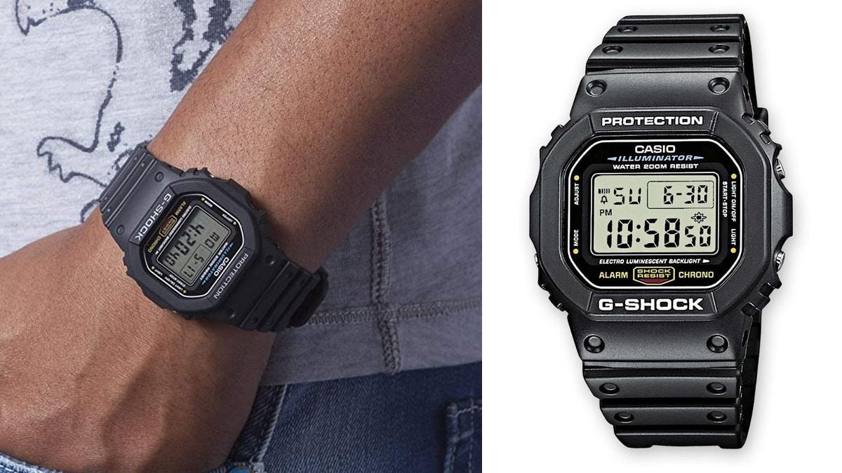 Reloj Casio G-Shock DW-5600E-1VER barato, relojes baratos, ofertas en relojes chollo