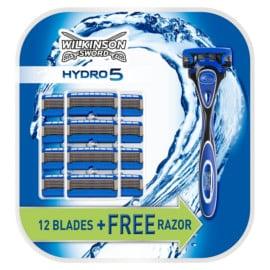 Maquinilla de afeitar Wilkinson Sword Hydro 5 con 12+1 recambios barata. Ofertas en maquinillas de afeitar, maquinillas de afeitar baratas