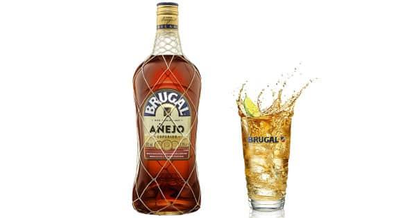 Ron Brugal añejo superior de 1.75 litros barato, bebidas de calidad baratas, chollo