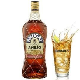 Ron Brugal añejo superior de 1.75 litros barato, bebidas de calidad baratas