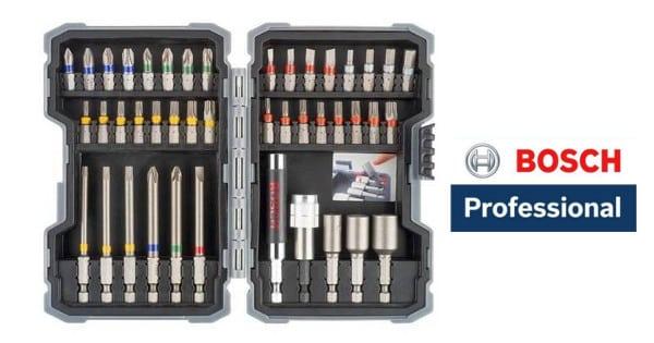 Set de 43 piezas Bosch Professional barato. Ofertas en herramientas, herramientas baratas, chollo