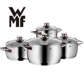 Batería de cocina WMF Quality One barata, baterias de cocina baratas, ofertas en ollas