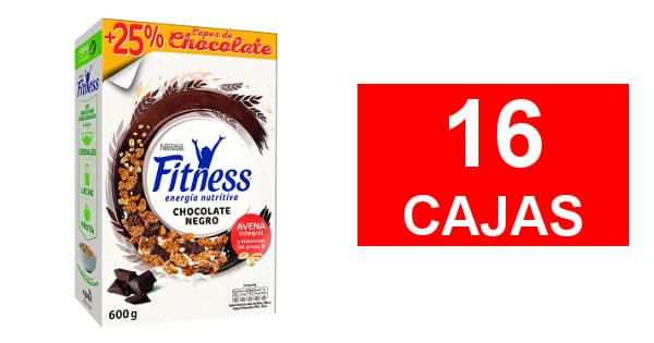 Cereales Fitness Chocolate negro baratos, alimentacion barata, ofertas supermercado chollo