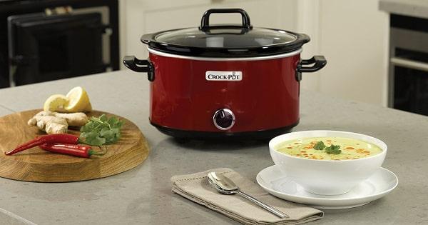 Olla de cocción lenta Crock-Pot SCV400RD barata, ollas de marca baratas, ofertas en ollas, chollos