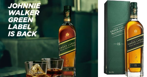 Whisky escocés Johnnie Walker Green Label
