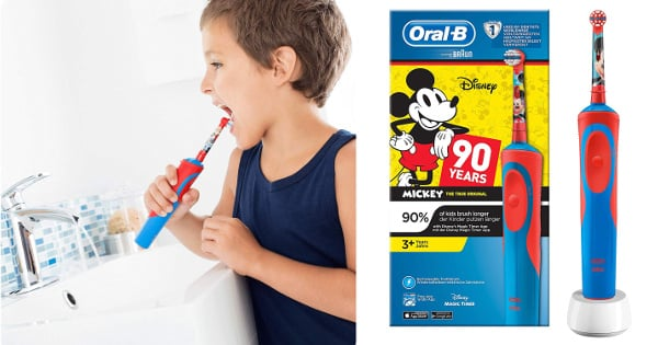 Cepillo de dientes eléctrico Oral-B Stages Power Kids Mickey Mouse baratos, productos para niños baratos, ofertas para ti chollo