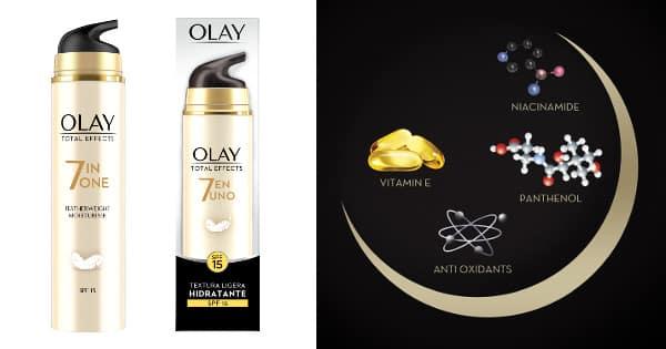 Crema antiarrugas Olay Total Effects 7 en 1 barata, cremas baratas, ofertas en cremas chollo