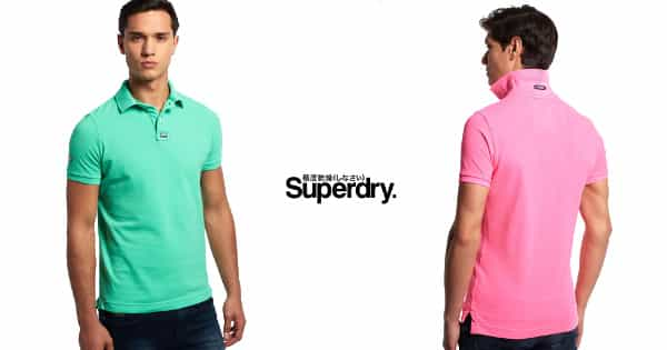 Polo Superdry Destroy New Vintage barato, ropa de marca barata, chollo