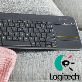 Teclado Logitech K400 Plus barato, teclados inalámbricos baratos