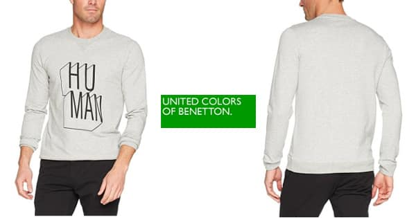 Sudadera United Colors of Benetton barata, sudaderas baratas, ofertas en sudaderas chollo