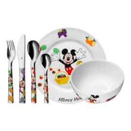 Vajilla infantil de 6 piezas Mickey Mouse WMF barata, vajillas baratas