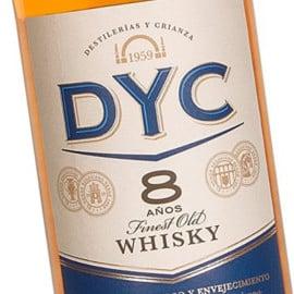 Whisky DYC 8 años 1 litro barato. Ofertas en whisky, whisky barato