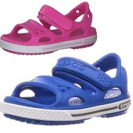 Sandalias infantiles Crocs Crocband Sandal II baratas, sandalias de marca baratas, ofertas en calzado para niño