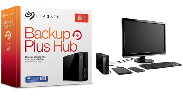 Disco duro externo Seagate Backup Plus Hub 8TB barato, ofertas en discos duros externos, discos duros externos baratos, chollo