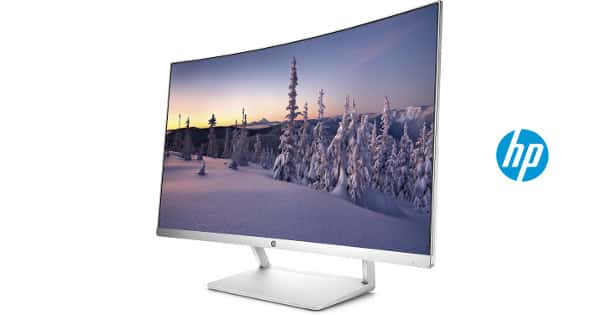 Monitor curvo de 27 pulgadas LED Full HD HP Z4N74AA barato, monitores baratos, chollo