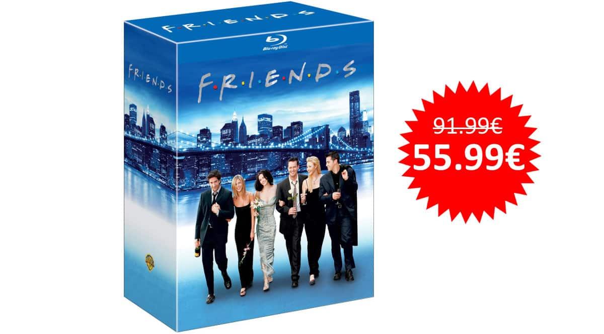 ¡¡Chollo!! Serie completa de Friends en Blu-ray sólo 55.99 euros.