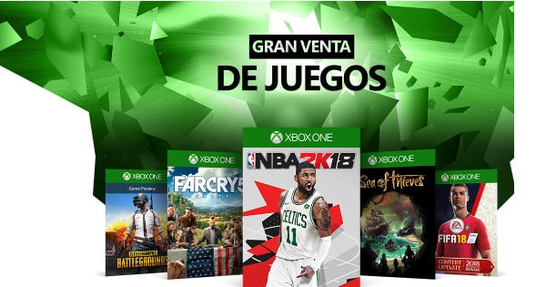 Ultimate Game Sale de Microsoft, chollos en videojuegos, chollo