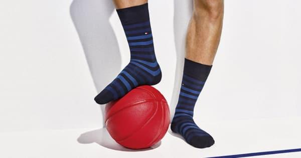 Calcetines Tommy Hilfiger baratos, ropa de marca barata, ofertas en calcetines chollo