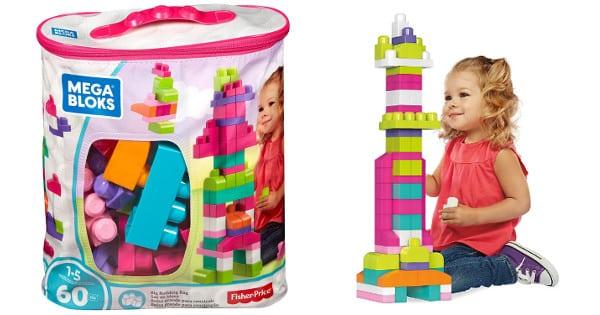 Juego de construcción de 60 piezas Mega Bloks barato, juguetes baratos, chollo