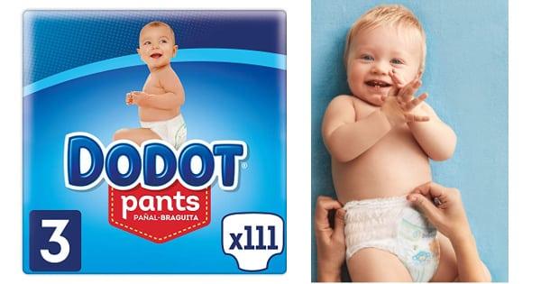 Pañales braguita para niña Dodot Pants baratos, pañales baratos, ofertas en supermercado chollo