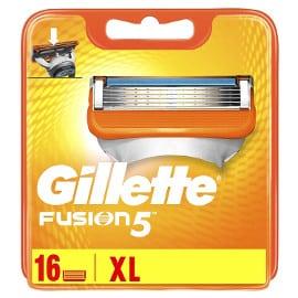 16 recambios Gillette Fusion5 baratos, recambios para maquinilla baratos