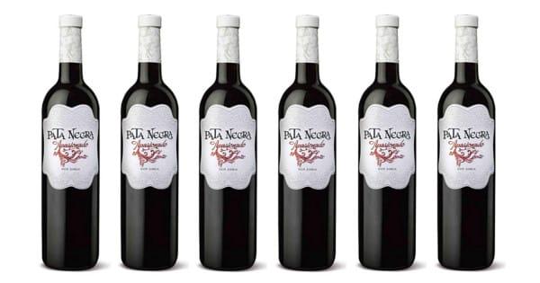 6 botellas de vino Jumilla Pata Negra Apasionado baratas. Ofertas en vino, vino barato, chollo