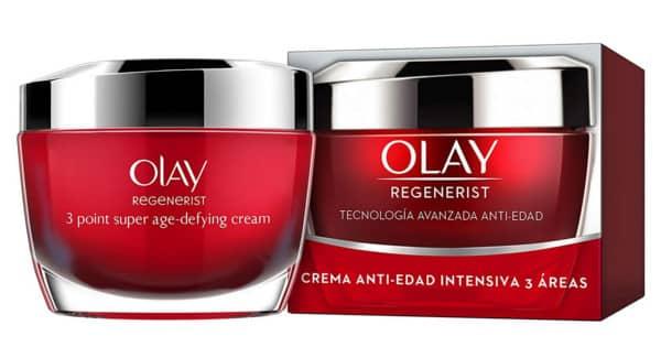 Crema anti-edad Olay Regenerist barata. Ofertas en supermercado, chollo