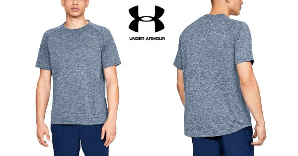 Camiseta para hombre Under Armour UA Tech barata, camisetas baratas, chollo
