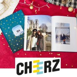 Códigos de descuento Cheerz para Navidades, revelados de fotografías baratos, creatividades con fotografías baratos