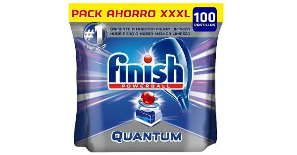 Pack de 100 pastillas lavavajillas Finish Quantum barato, lavavajillas baratos, ofertas en supermercados, chollo