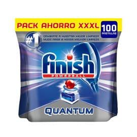 Pack de 100 pastillas lavavajillas Finish Quantum barato, lavavajillas baratos, ofertas en supermercados