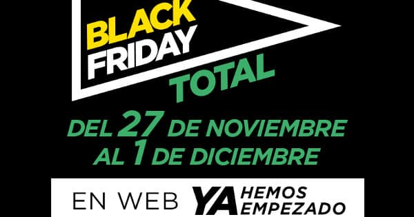 Black Friday de El Corte Inglés, chollo