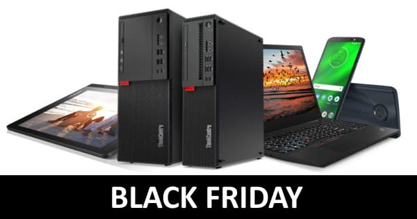 Black Friday en Lenovo.