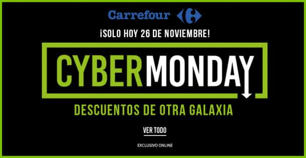 Cyber Monday 2018 en Carrefour