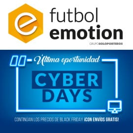 Cyber Monday 2018 en Futbol Emotion