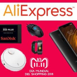 Día Mundial del Shopping 11.11.2018 en Aliexpress, ofertas en Aliexpress