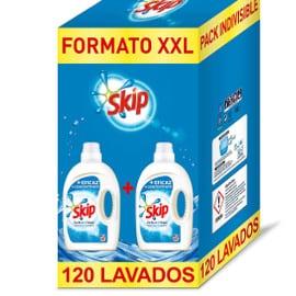Detergente Skip Active Clean, 120 lavados, barato, detergentes baratos