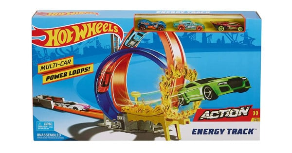 Juguete Mattel Hot Wheels Pista Energy Track barato, juguetes baratos, chollo