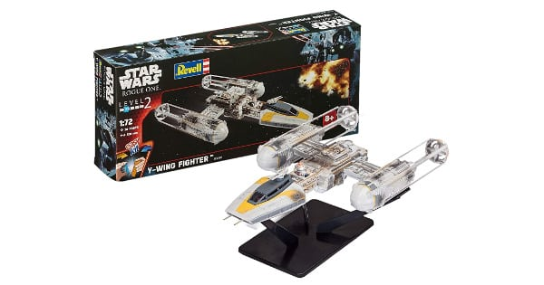 Maqueta Revell Star Wars Rogue One Fighter Y-Wing barata, juguetes baratos, ofertas en maquetas chollo
