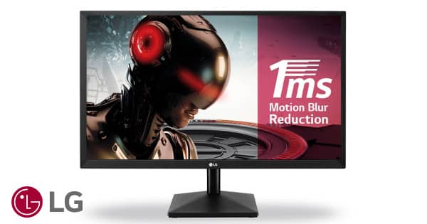 Monitor LED Full HD de 23.8 pulgadas LG 24MK400H-B barato, monitores baratos, chollo