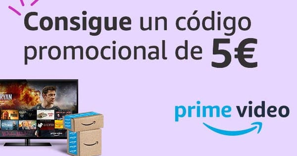 Consigue 5 euros con Amazon Prime Video, chollo
