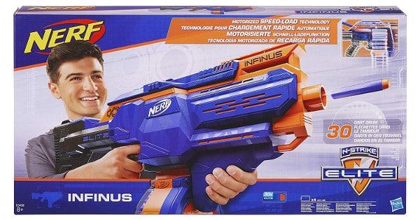 Lanzador Nerf Infinus barato, juguetes baratos, chollo