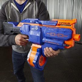 Lanzador Nerf Infinus barato, juguetes baratos