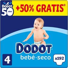 Pañales Dodot bebé seco baratos, pañales de marca baratos, ofertas supermercado