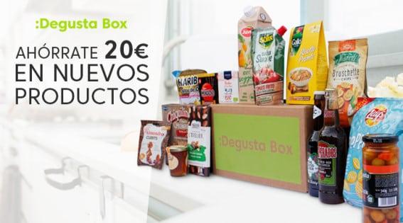 Pide tu primera Degusta Box y ahórrate más de 20 euros, Degusta Box barato, ofertas en Degusta Box, chollo