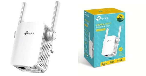 Extensor de cobertura WiFi TP-Link WA855RE barato, extensores WiFi baratos, chollo