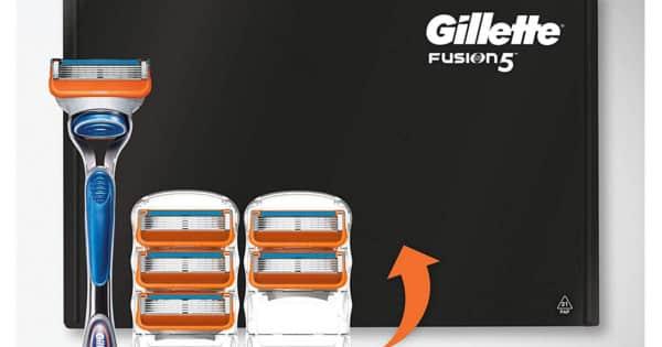 Maquinilla y 5 recambios Gillette Fusion5 baratos. Ofertas en maquinillas de afeitar, maquinillas de afeitar baratas, chollo