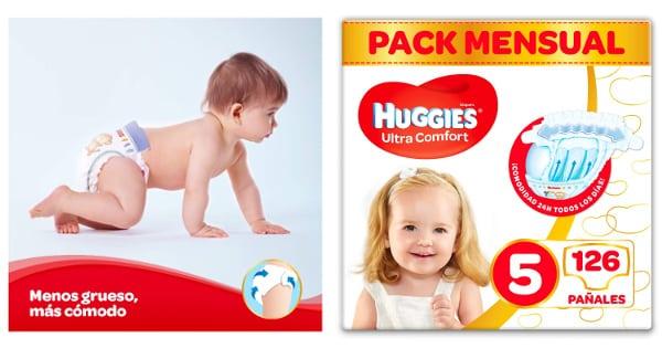Pañales Huggies baratos, bañales bebé baratos, ofertas para niños, chollo