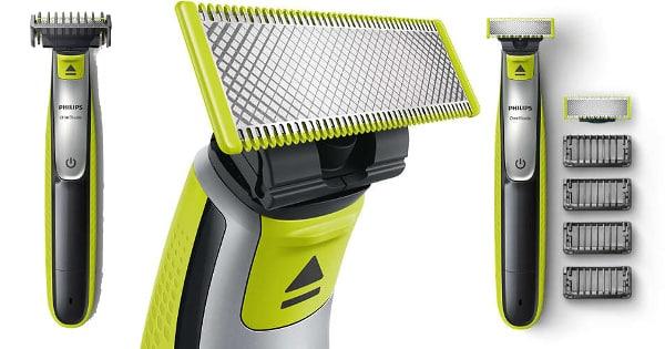 Recortadora de barba Philips OneBlade Shaver QP253030 barata, afeitadoras baratas, ofertas en afeitadoras chollo