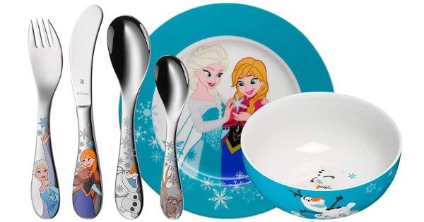 Vajilla para niños WMF Disney Frozen barata, productos para niños baratos, ofertas para la casa chollo